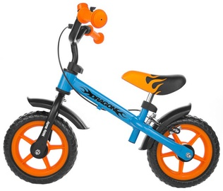 Vaikiškas dviratis Milly Mally Dragon Bike Race With Brakes Blue / Orange 1452