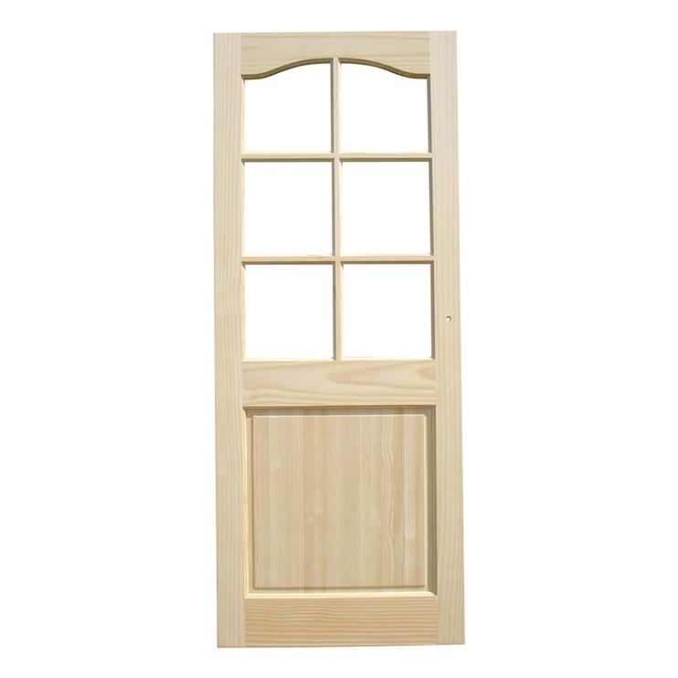 Vidaus durų varčia, pušinė, 81x203 cm