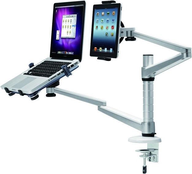 Televizoriaus laikiklis NewStar FPMA-D300NOTEBOOK Desk Mount Silver