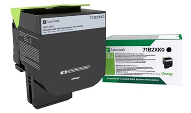 Lexmark 71B2XK0 Return Program 8K Toner Cartridge Black