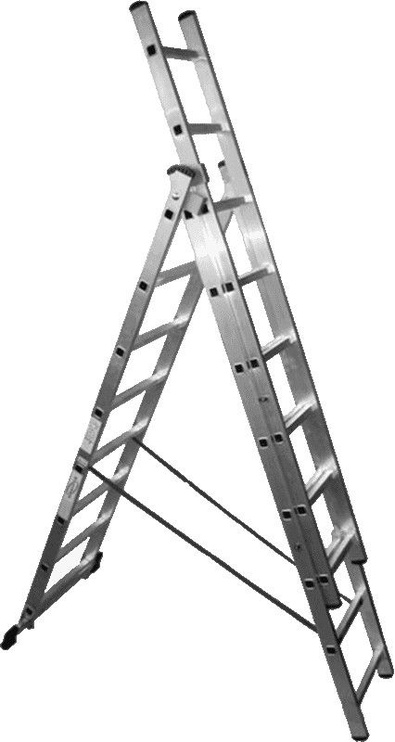 Besk Aluminium Ladder 10.12m 3x14