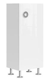 Black Red White Ringo SFK1D Cupboard 50x120cm Alpine White/Gloss White