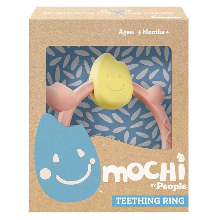 Прорезыватель Mochi Ring Pink MB010