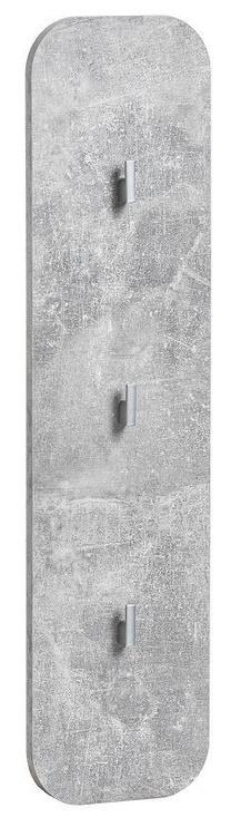 ASM Wally V Hallway Wall Unit Set Gray/Glossy White