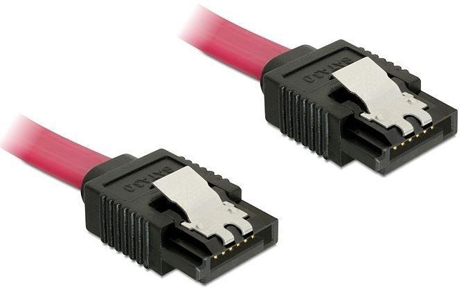 Delock Cable SATA / SATA Red 0.1m