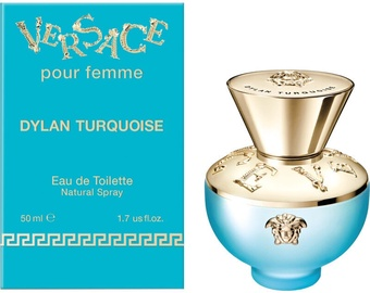 Tualetinis vanduo Versace Pour Femme Dylan Turquoise 50ml EDT
