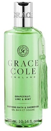 Dušo želė Grace Cole Soothing Grapefruit, Lime & Mint, 300 ml