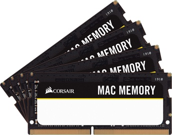 Corsair Mac Memory 64GB 2666MHz CL18 DDR4 SODIMM KIT OF 4 CMSA64GX4M4A2666C18
