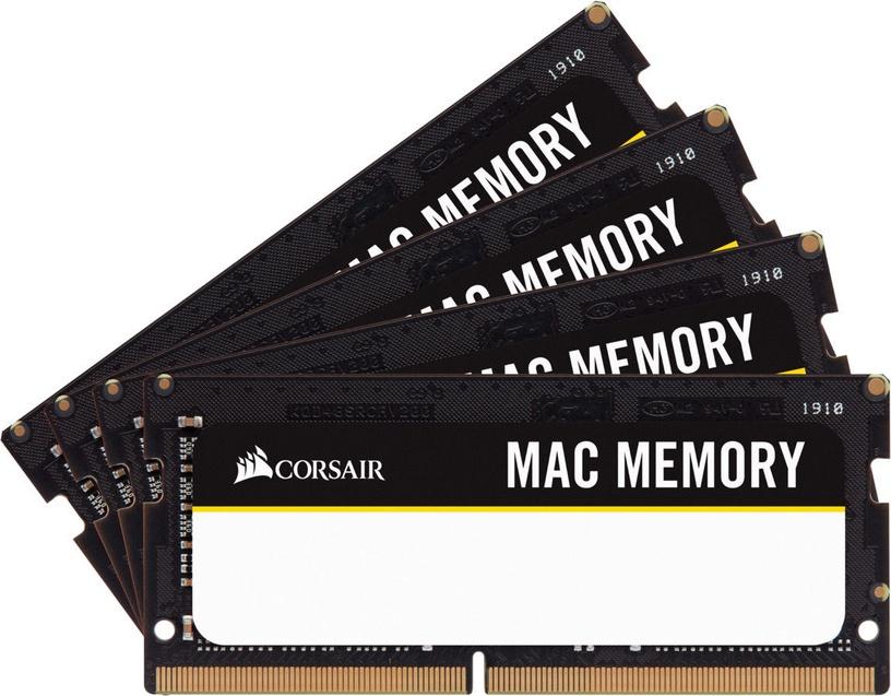 Operatīvā atmiņa (RAM) Corsair Mac Memory CMSA64GX4M4A2666C18 DDR4 (SO-DIMM) 64 GB