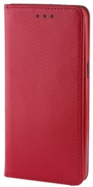 Mocco Smart Magnet Book Case For Samsung Galaxy J6 Plus J610 Red