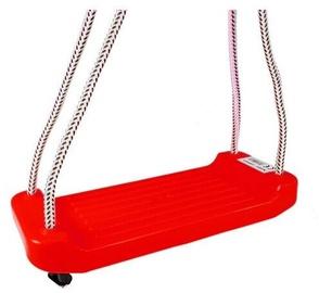 Šūpoles Childrens Swing LN5804, sarkana