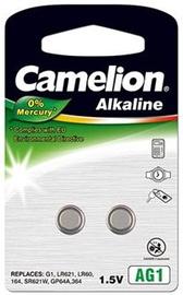 Camelion AG1/LR60/LR621/364 Alkaline Buttoncell x2