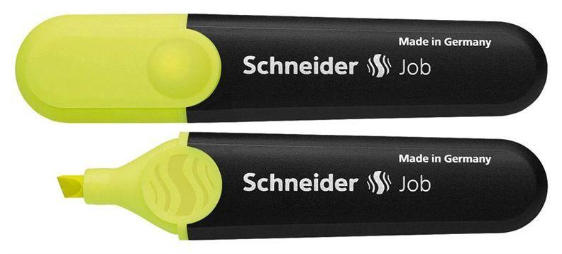 Marķieris Schneider Textmarker Highlighter Yellow 1505