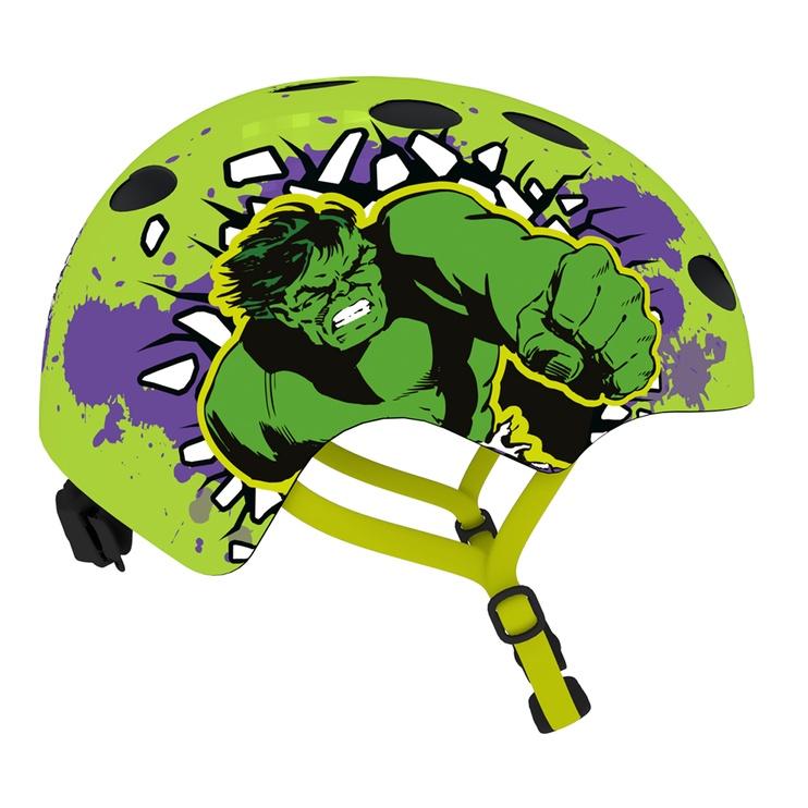 Šalmas Disney Hulk 9064, žalias, 540 - 580 mm