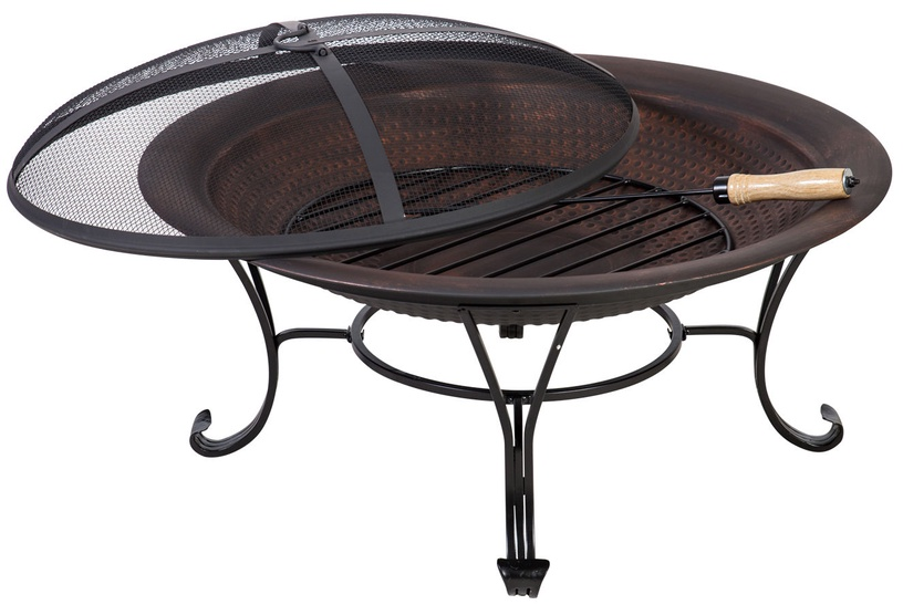 Home4you  Heat Grid Fireplace With Lid H45cm