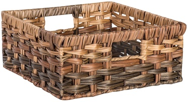 Home4you Basket Rubys 1 30x30x13cm Brown