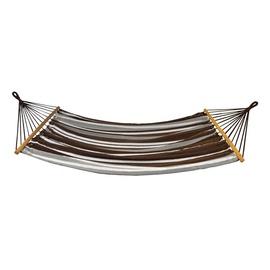 Šūpuļtīkls Royokamp Hanging Standard, brūna/balta, 200 cm
