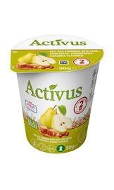 Ruginė košė Activus su kriaušėmis, karamelės skonio, 50 g
