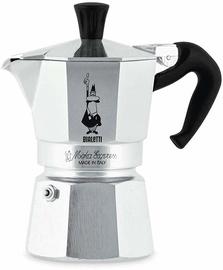 Bialetti Moka Express Coffee Maker Aluminum 2 Cups