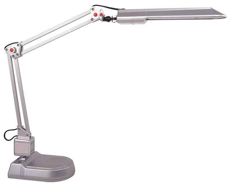 Galda lampa HD2003A 11W G23, pelēka