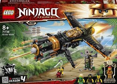 Конструктор LEGO Ninjago Скорострельный истребитель Коула 71736, 449 шт.