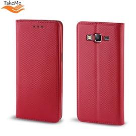 TakeMe Smart Magnetic Fix Book Case Xiaomi Redmi Note 7 / Note 7 Pro Red