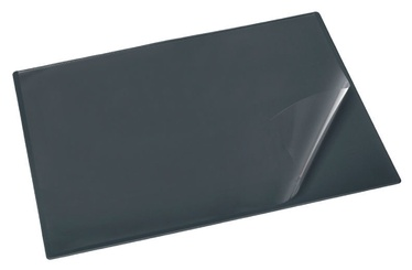 Bantex Desk Pad With Film 49x65cm Anthracite Black