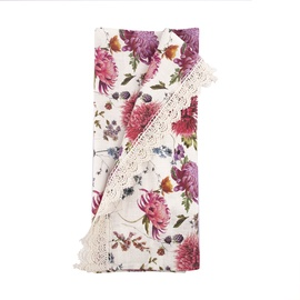 Home4you Linda Tablecloth 45x116cm Flowers