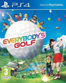 Игра для PlayStation 4 (PS4) Everybody's Golf PS4