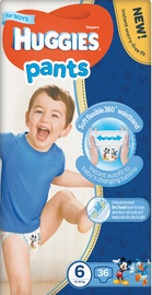 Huggies Pants Boys MP6, 36 vnt