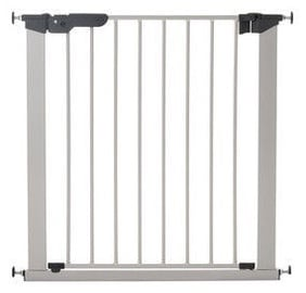 BabyDan Premier Safety Gate Silver