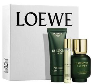 Loewe Esencia 100ml EDT + 75ml After Shave Balm + 15ml EDT