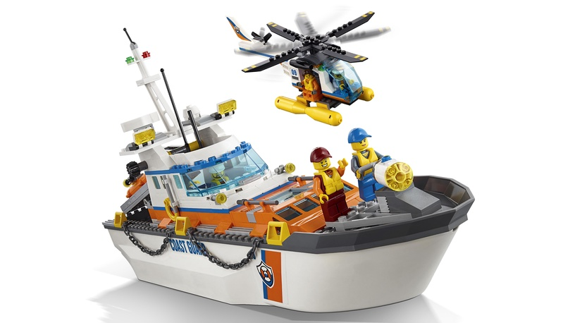 Konstruktorius Lego City Coast Guard Head Quarters 60167