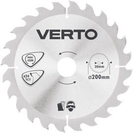 Verto Circular Saw Blade 200x30mm 24T