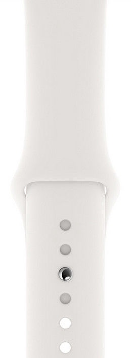 Apple Watch Series 4 40mm GPS Aluminum Silve/White Band