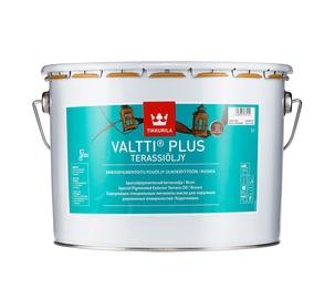 Aliejus Tikkurila Valtti Plus Terassioljy, rudas, 9 l