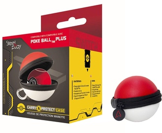 Аксессуар Steel Play Poke Ball Plus Controller Carry and Protect Case