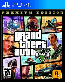 Žaidimas Grand Theft Auto V Premium Edition PS4
