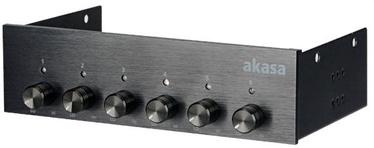 """Akasa 5.25"""" Fan Controller Black AK-FC-08BKV2"""