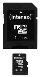 Intenso 32GB Micro SDHC Class 10 + Adapter
