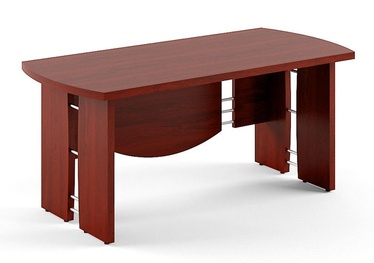 Skyland Born V 101 Executive Desk 200x90cm Burgundy