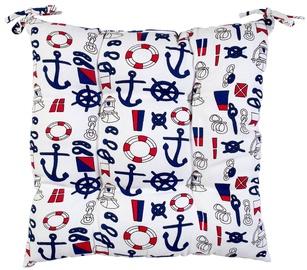 Home4you Chair Pad 40x40cm Summer Sea