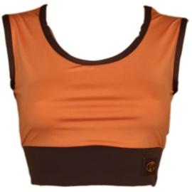 Bars Womens Top Brown/Orange 113 S