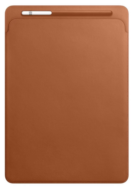 Apple iPad Pro Leather Sleeve for 12.9'' Saddle Brown