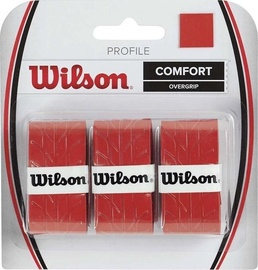 Wilson Profile Overgrip WRZ4025RD Red 3pcs