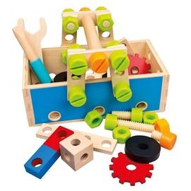 Bino Wooden Tool Box Set