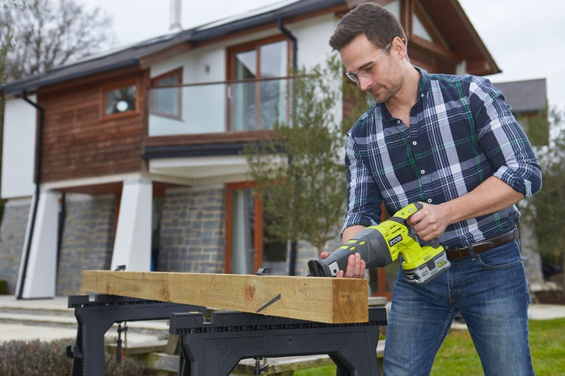 Ryobi R18RS-0 Cordless Reciprocating Saw without Battery