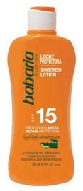 Babaria Aloe Vera Sunscreen Lotion SPF15 200ml