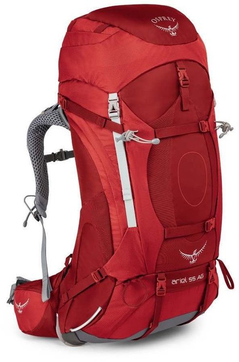 Osprey Ariel AG 55 Womens M Picante Red