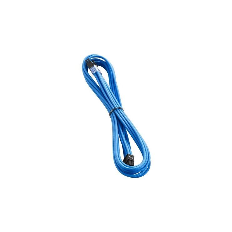 CableMod C-Series PRO ModMesh 8-pin PCIe Cable Corsair RMi/RMx/RM Black Label 60cm Light Blue